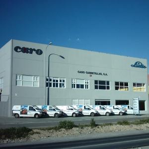 Primeras instalaciones Caro
